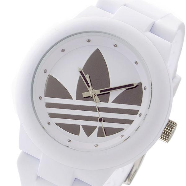 アディダス ADIDAS アバディーン クオーツ ユニセックス 腕時計 ADH3208 シルバー/ホワイト