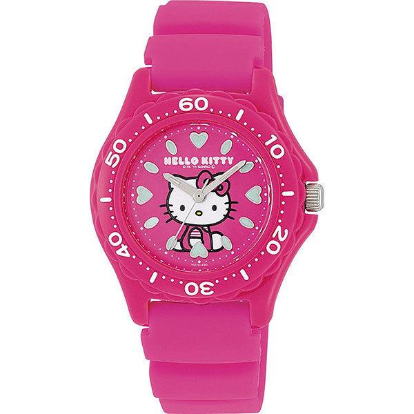 シチズン CITIZEN ハローキティ レディース 腕時計 VQ75-430 ピンク