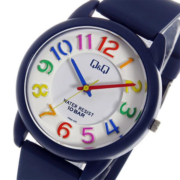 シチズン キューアンドキュー クオーツ ユニセックス 腕時計 VR68-002 ホワイト