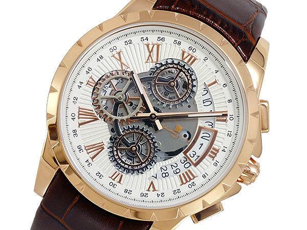 サルバトーレマーラ SALVATORE MARRA クオーツ メンズ 腕時計 SM13119S-PGWH