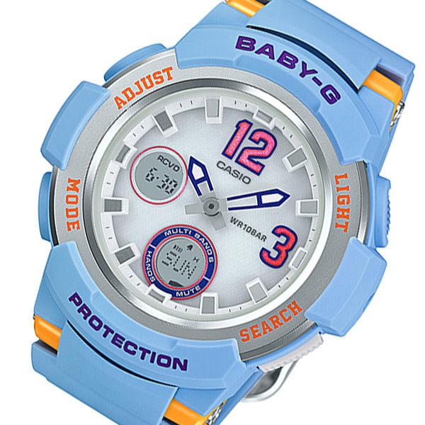 カシオ ベビーG タフソーラー レディース 腕時計 BGA-2100-2BJF ブルー 国内正規