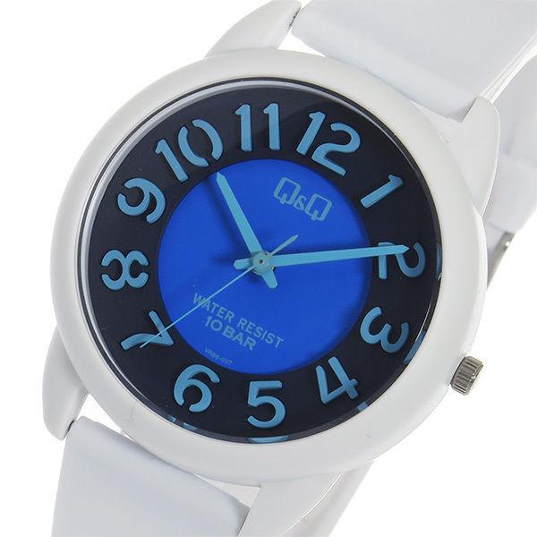シチズン キューアンドキュー クオーツ ユニセックス 腕時計 VR66-007 ブラック