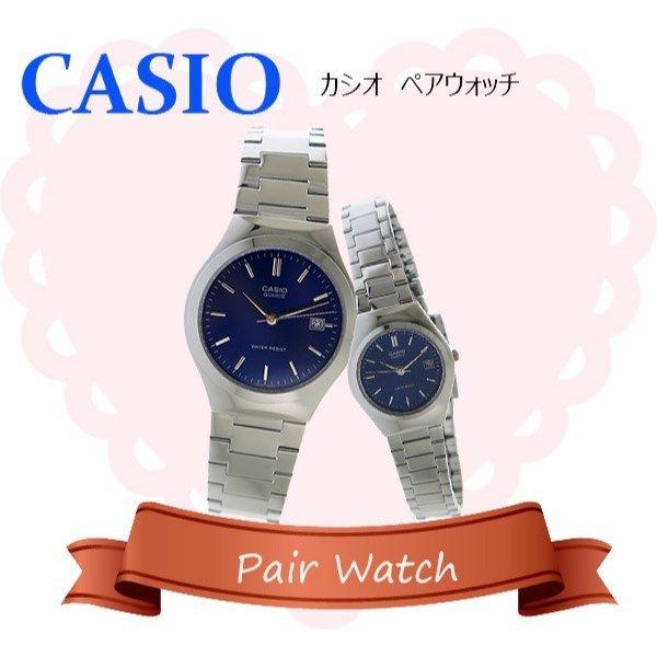 【ペアウォッチ】 カシオ CASIO チープカシオ ユニセックス 腕時計 MTP-1170A-2A LTP-1170A-2A