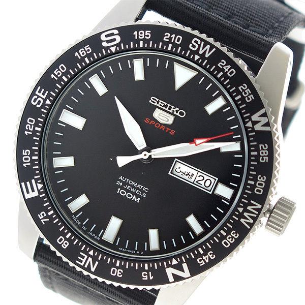セイコー SEIKO セイコー5 自動巻き メンズ 腕時計 SRP667J1 ブラック
