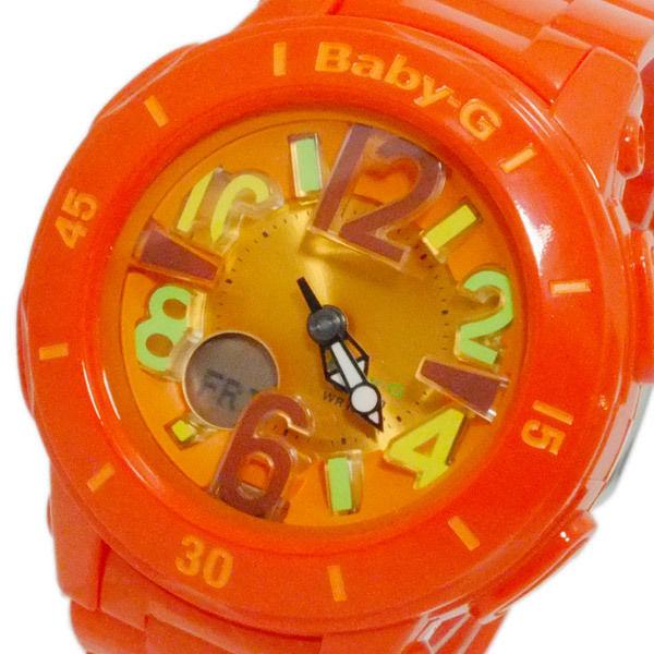 カシオ CASIO ベビーG デジアナ レディース 腕時計 BGA-171-4B2 オレンジ