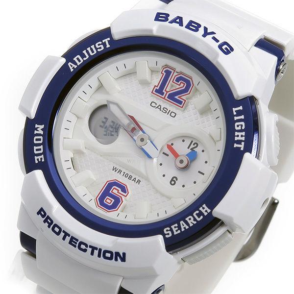 カシオ ベビーG BABY-G クオーツ レディース 腕時計 BGA-210-7B2 ホワイト