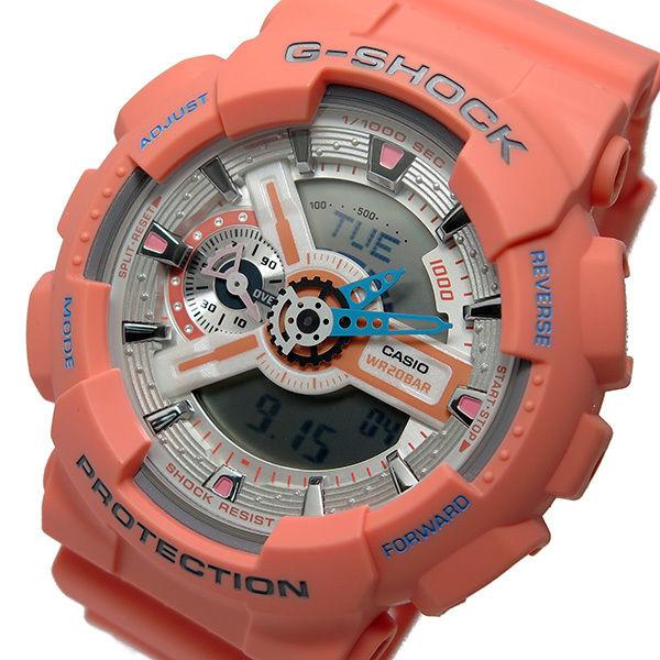 カシオ CASIO Gショック G-SHOCK クオーツ メンズ 腕時計 GA-110DN-4A ピンク