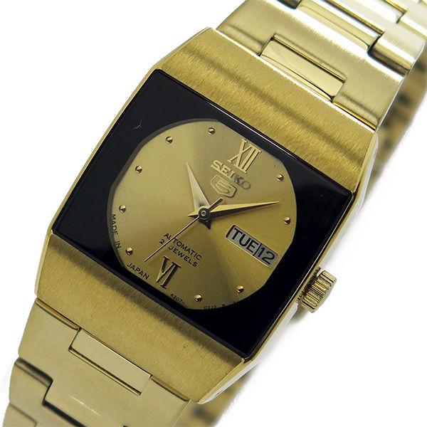 セイコー SEIKO セイコー5 ドレス レディース 自動巻き 腕時計 SYM636J1 ゴールド