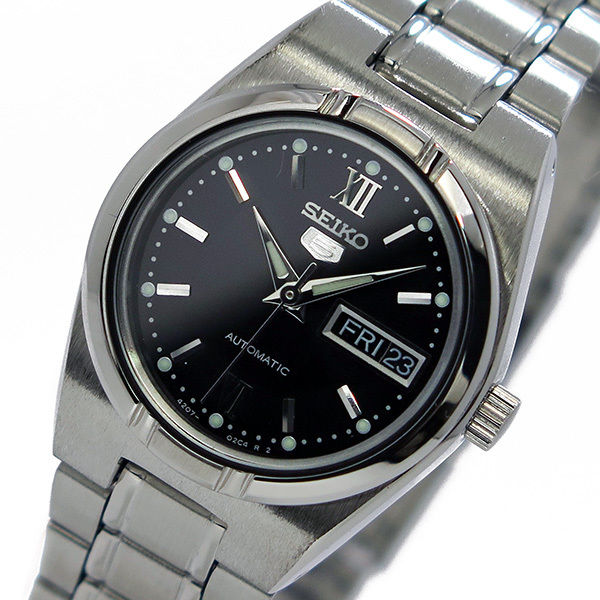 セイコー SEIKO セイコー5 SEIKO 5 レディース 自動巻き 腕時計 SYM607K ブラック