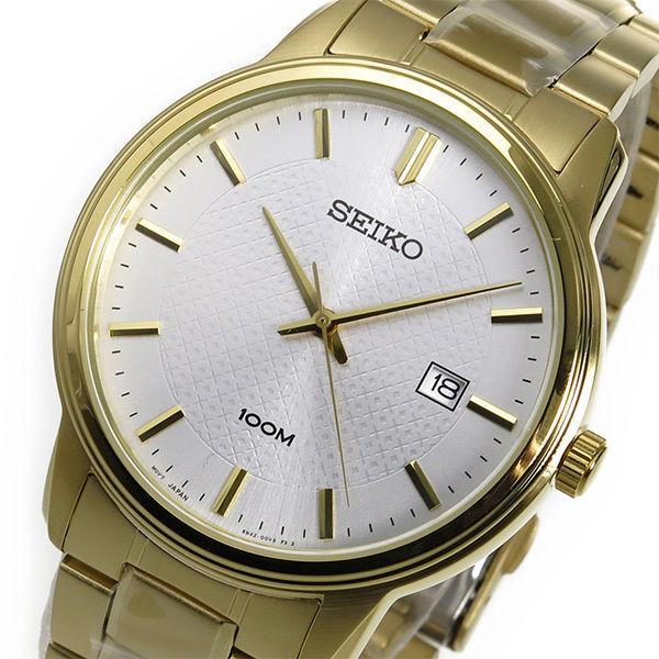 セイコー SEIKO クオーツ メンズ 腕時計 SUR198P1 ホワイト