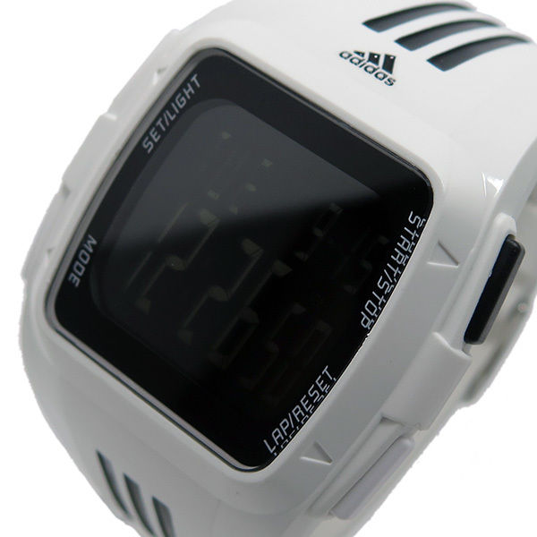 アディダス ADIDAS パフォーマンス デジタル メンズ 腕時計 ADP6091 ホワイト