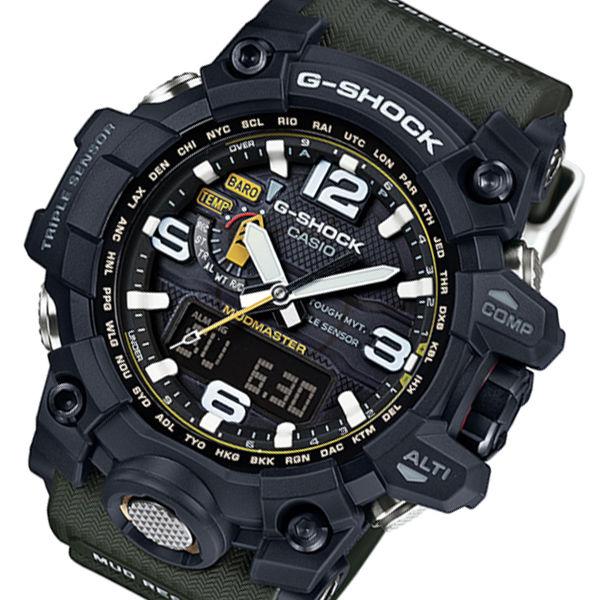 カシオ Gショック マッドマスター メンズ 腕時計 GWG-1000-1A3JF ブラック 国内正規