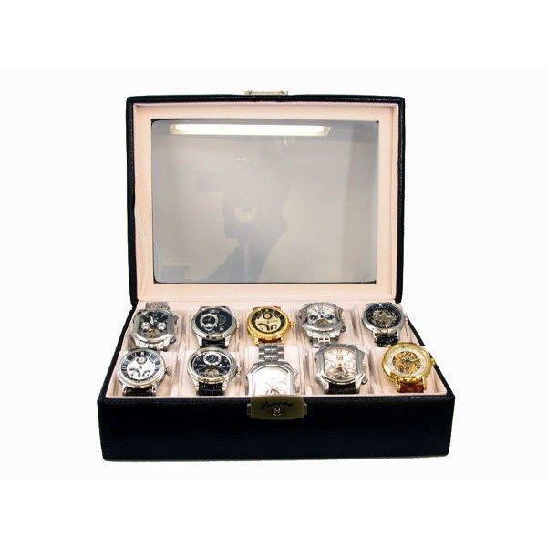 ベローナ VERONA 腕時計 コレクション 収納ケース (10本収納/ロック付) 189995