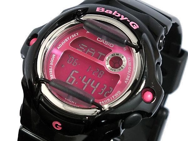 カシオ CASIO ベビーG BABY-G カラーディスプレイ レディース 腕時計BG169R-1B