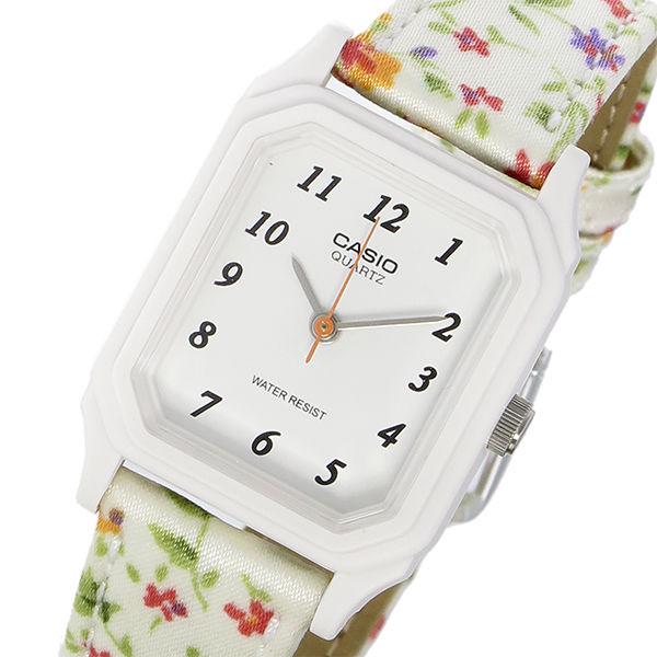 カシオ CASIO スタンダード クオーツ レディース 腕時計 LQ-142LB-7B ホワイト