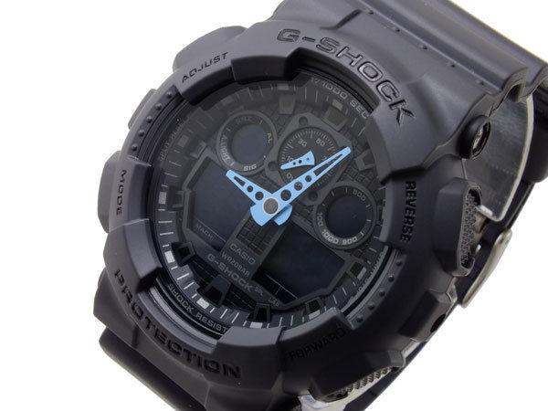 カシオ CASIO Gショック G-SHOCK アナデジ メンズ 腕時計 GA-100C-8A