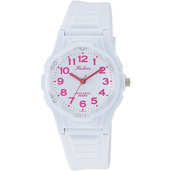 シチズン CITIZEN キューアンドキュー Q&Q ファルコン 10気圧防水 ユニセックス 腕時計 VS06-006 ホワイト