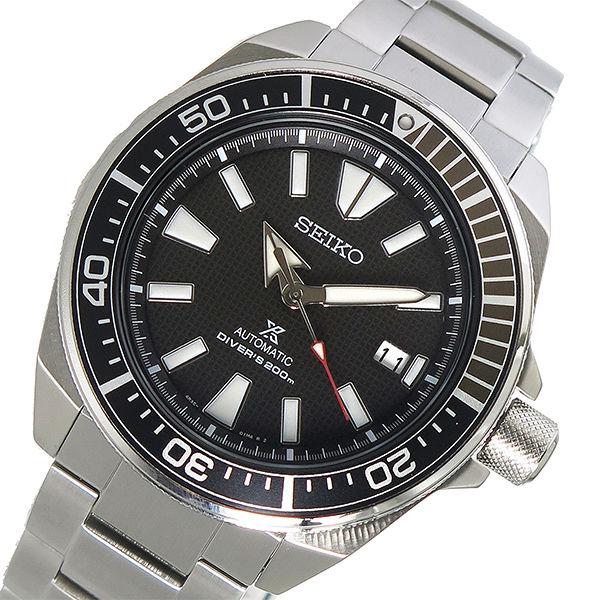 セイコー SEIKO プロスペックス PROSPEX 自動巻き メンズ 腕時計 SRPB51K1 ブラック