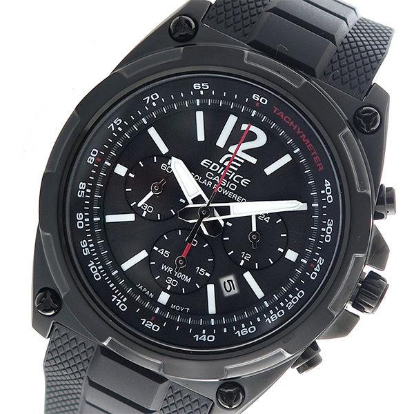 カシオ CASIO エディフィス EDIFICE クロノ クオーツ メンズ 腕時計 EFR-545SBPB-1B ブラック