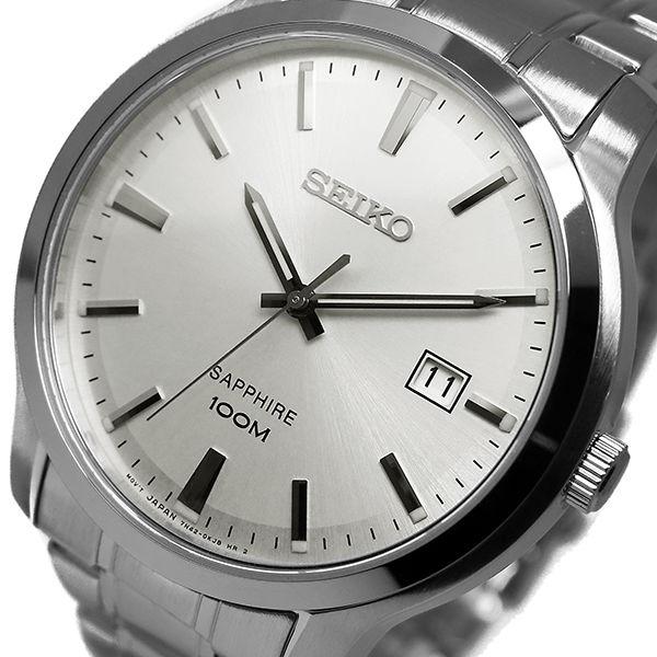 セイコー SEIKO クオーツ メンズ 腕時計 SGEH39P1 シルバー