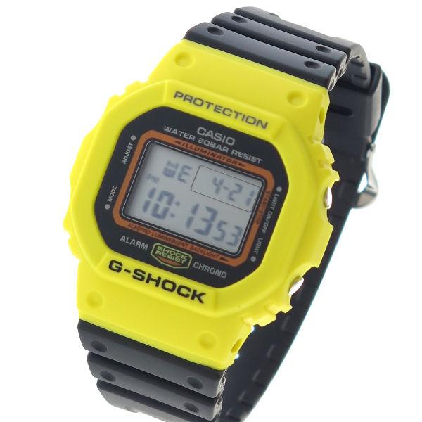 カシオ CASIO G-SHOCK デジタル THROW BACK 1983 クロノ クオーツ メンズ 腕時計 DW-5600TB-1DR ブラック