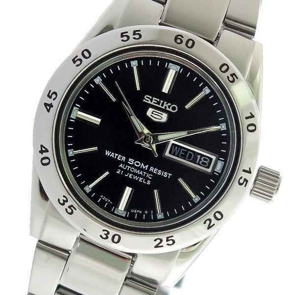 セイコー SEIKO セイコー5 SEIKO 5 自動巻き レディース 腕時計 SYMG39K1 ブラック