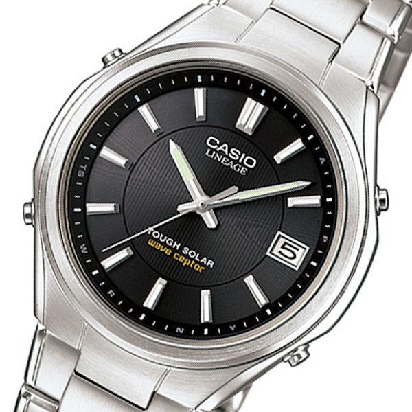 カシオ リニエージ 電波 ソーラー メンズ 腕時計 LIW-120DEJ-1AJF ブラック 国内正規