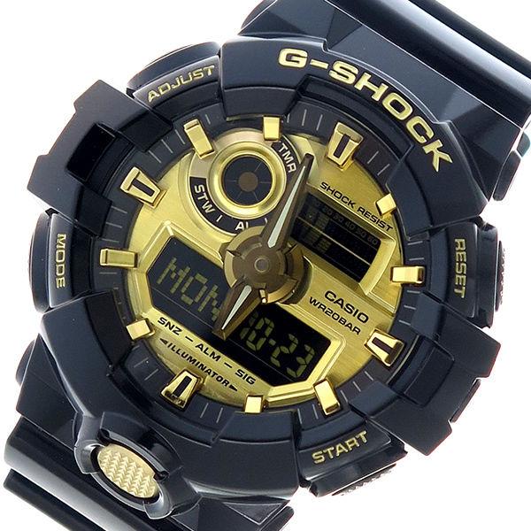 カシオ CASIO Gショック G-SHOCK クオーツ メンズ 腕時計 GA-710GB-1A ゴールド