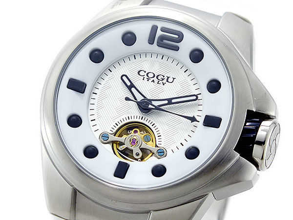コグ COGU 自動巻き メンズ 腕時計 TMP-WH