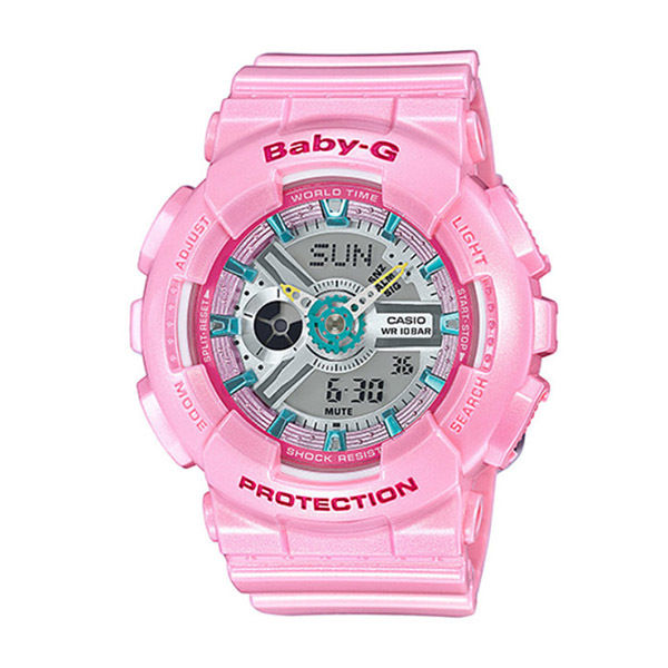 カシオ ベビーG BABY-G クオーツ レディース 腕時計 BA-110CA-4A ピンク
