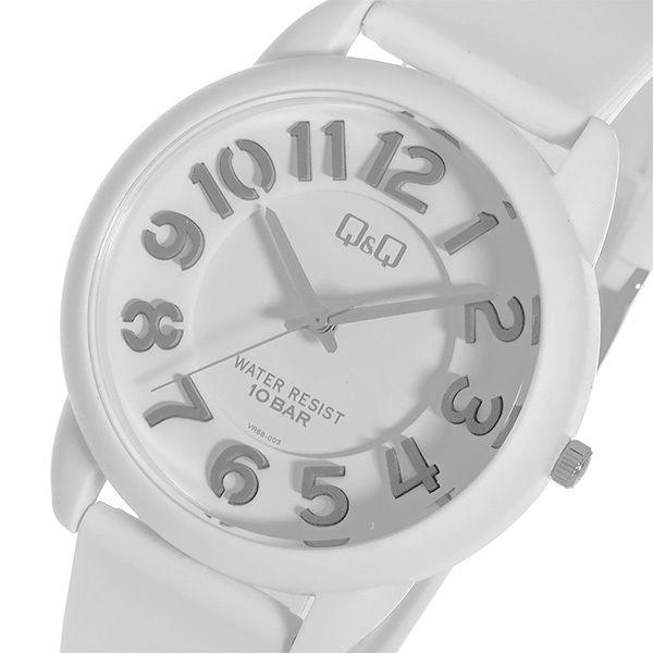 シチズン キューアンドキュー クオーツ ユニセックス 腕時計 VR66-002 ホワイト