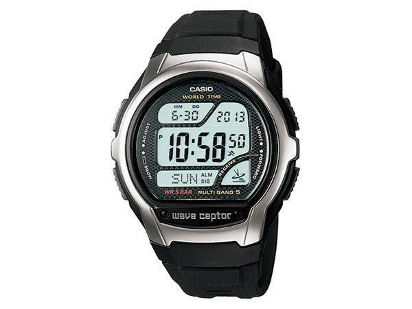 カシオ CASIO ウェーブセプター 電波受信 ユニセックス 腕時計 WV-58J-1AJF