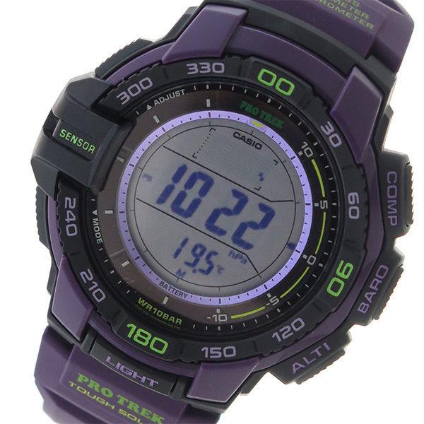 カシオ CASIO プロトレック PROTREK ソーラー クオーツ メンズ 腕時計 PRG-270-6A グレー
