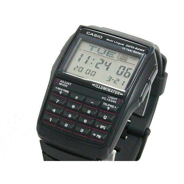 カシオ CASIO データバンク DATA BANK ユニセックス 腕時計 DBC32-1A