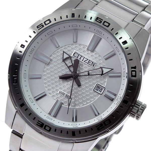 シチズン CITIZEN クオーツ メンズ 腕時計 BI1060-52A シルバー