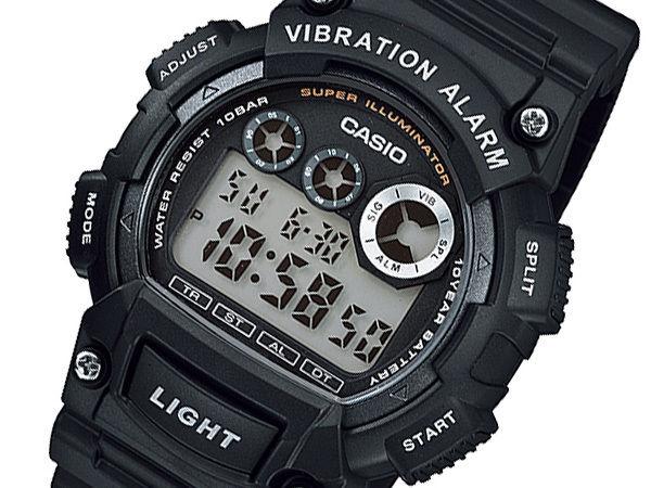 カシオ CASIO STANDARD メンズ デュアルタイム 腕時計 W-735H-1AJF 国内正規