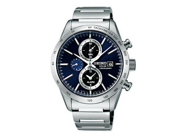 セイコー SEIKO スピリット SPIRIT ソーラー メンズ クロノグラフ 腕時計 SBPY115 国内正規