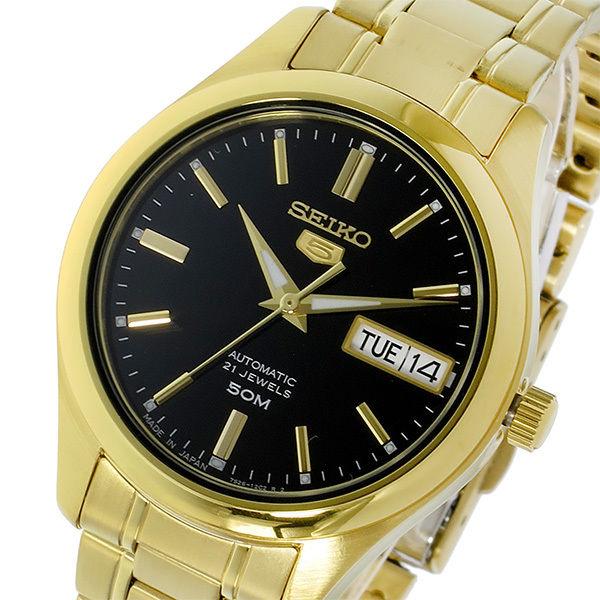 セイコー SEIKO セイコー5 SEIKO 5 自動巻き レディース 腕時計 SNK874J1 ブラック