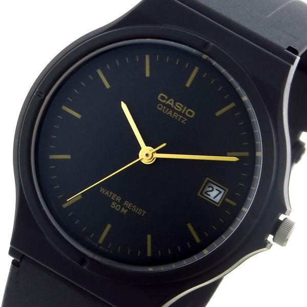 カシオ CASIO スタンダード クオーツ ユニセックス 腕時計 MW-59-1EV ブラック