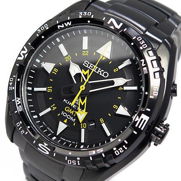 セイコー プロスペックス キネティック クオーツ メンズ 腕時計 SUN047P1 ブラック