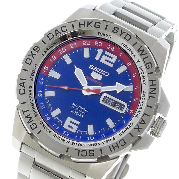 セイコー SEIKO セイコー5 スポーツ SPORTS 自動巻き メンズ 腕時計 SRP681J1 ブルー