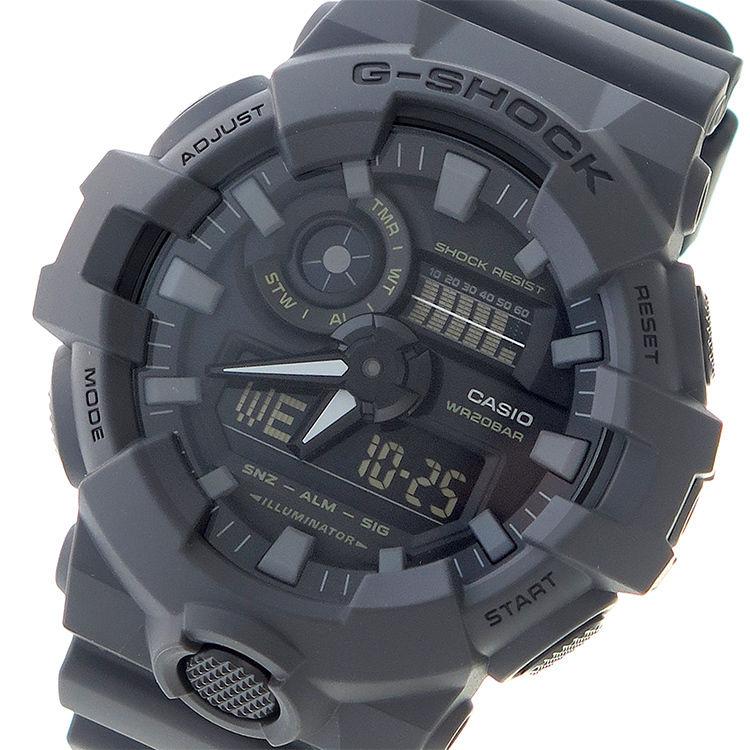 カシオ CASIO Gショック G-SHOCK クオーツ メンズ 腕時計 GA-700UC-8A ブラック