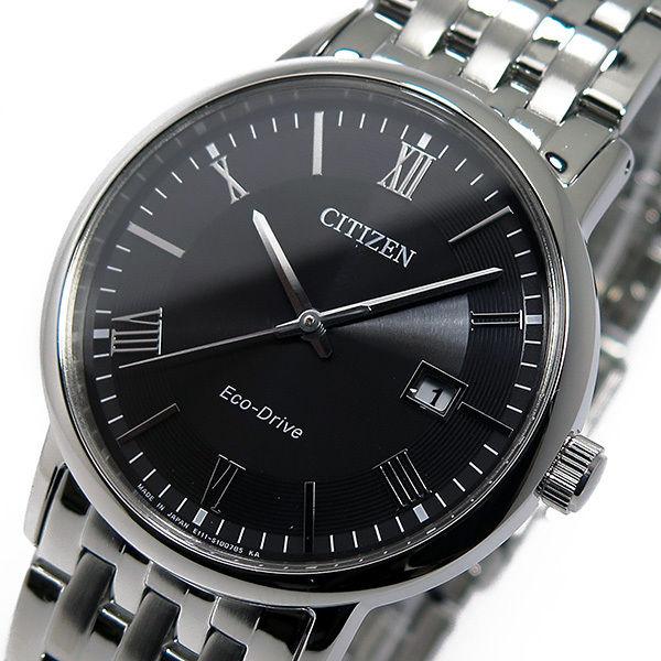 シチズン CITIZEN クオーツ メンズ 腕時計 BM6770-51E ブラック