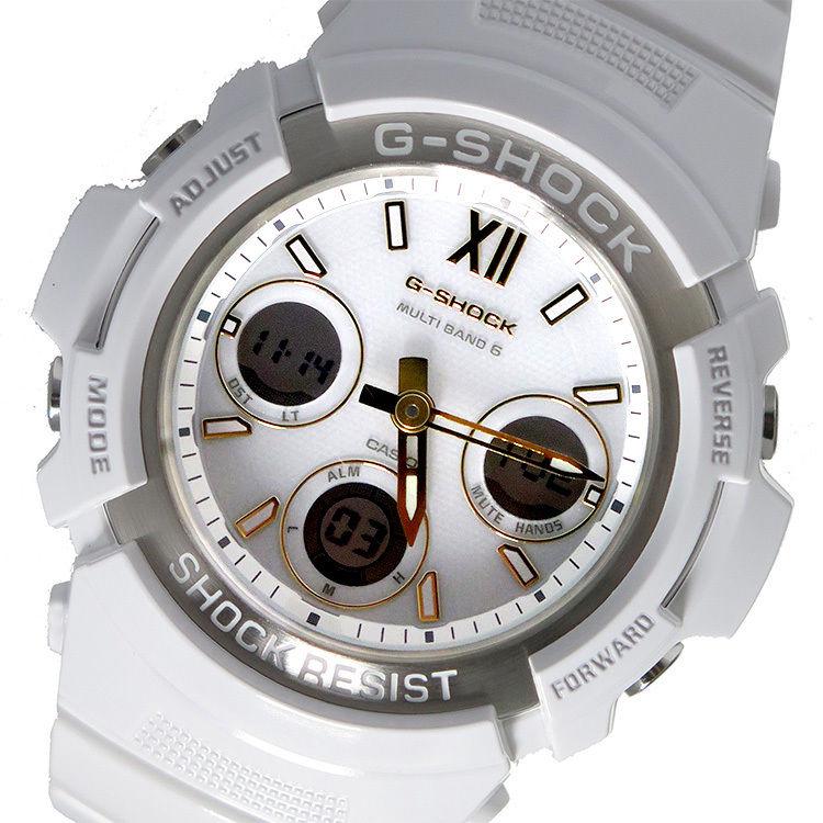 カシオ CASIO Gショック G-SHOCK クオーツ メンズ 腕時計 AWG-M100SGA-7AJF ホワイトシルバー 国内正規