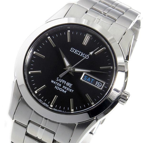 セイコー SEIKO クオーツ メンズ 腕時計 SGG715P1 ブラック