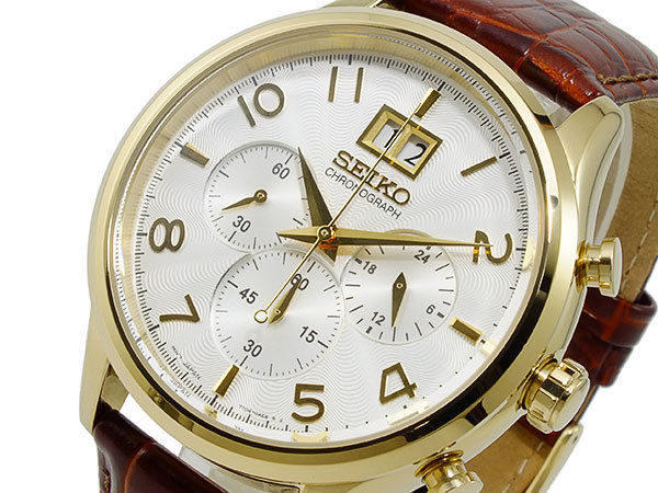 セイコー SEIKO クロノグラフ メンズ 腕時計 SPC088P1