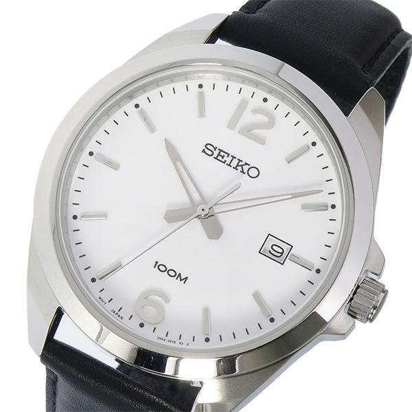 セイコー SEIKO クオーツ メンズ 腕時計 SUR213P1 ホワイト