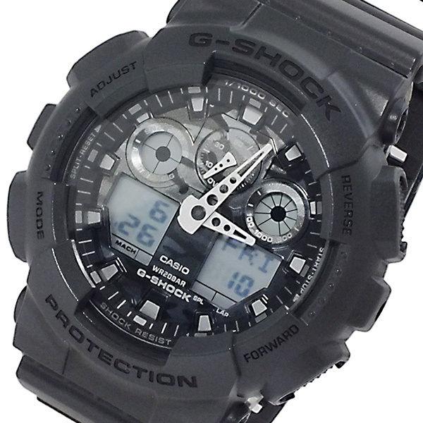カシオ CASIO Gショック アナデジ メンズ 腕時計 GA-100CF-8A