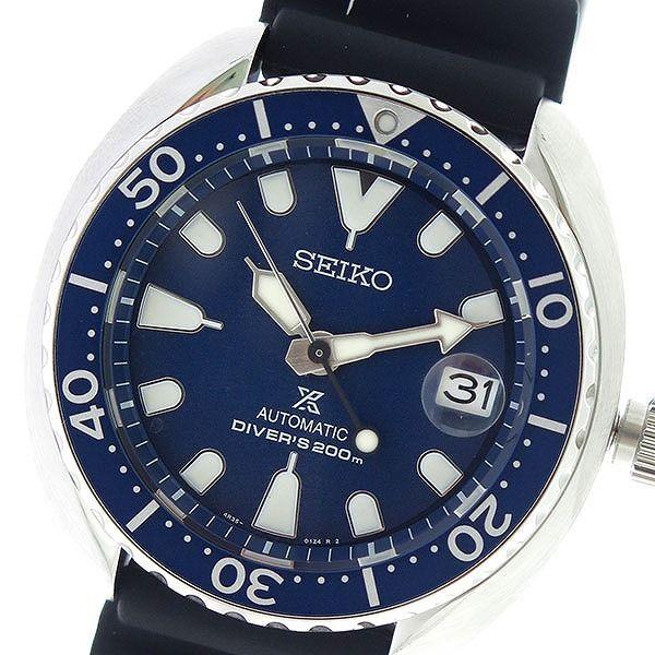 セイコー SEIKO プロスペックス PROSPEX 自動巻き メンズ 腕時計 SRPC39K1 ネイビー/ブラック