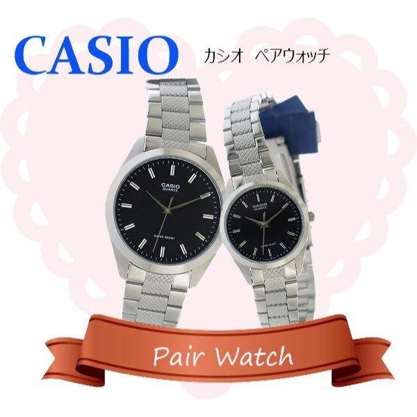 【ペアウォッチ】 カシオ CASIO チープカシオ ユニセックス 腕時計 MTP-1274D-1A LTP-1274D-1A